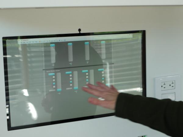 North house control panel