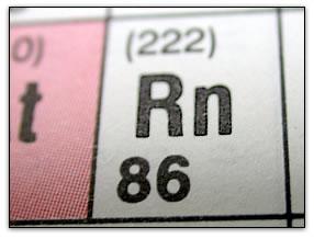 periodic table radon 86