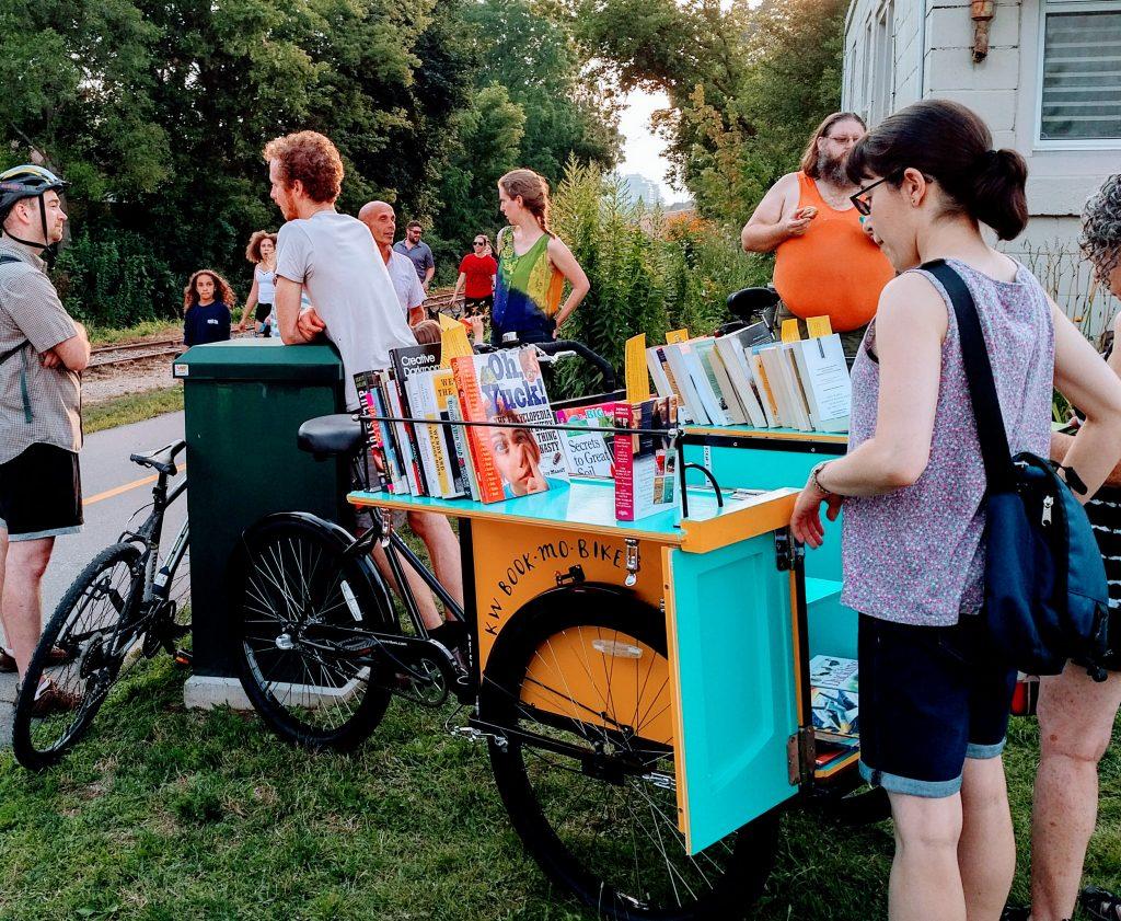 Waterloo Ontario Book-mo-bike!