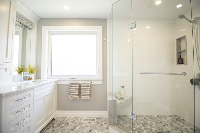 Bathroom renovation in Kitchener Ontario